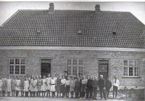 Borup Skole Hovedgaden 58 1918