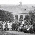 Nr. Dalby hovedskole 1910