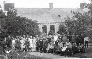 Nr Dalby hovedskole 1910
