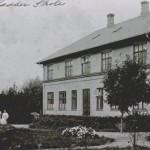 Sædder skole ca 1900